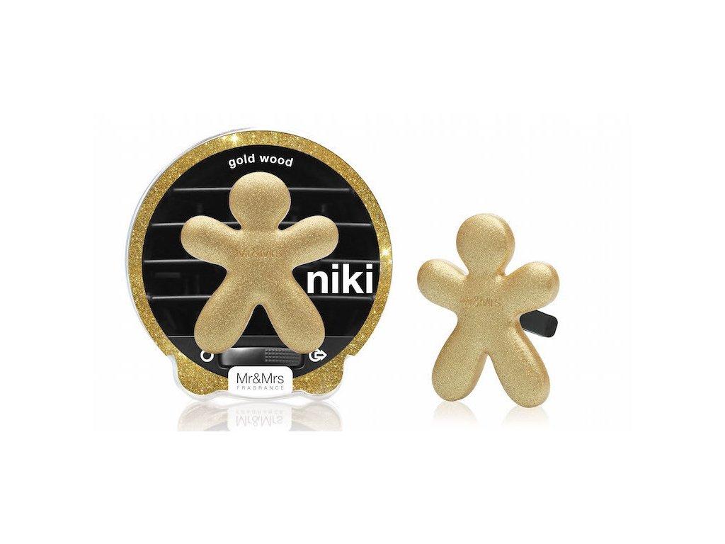 Mr&Mrs Fragrance Niki Golden Wood - s vůní zlatého dřeva
