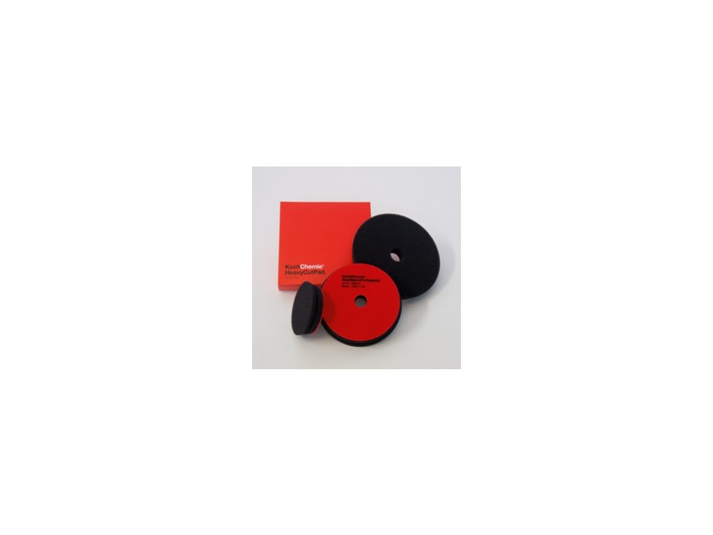 Koch - Leštící kotouč Heavy Cut Pad červený 126x23 mm 999578