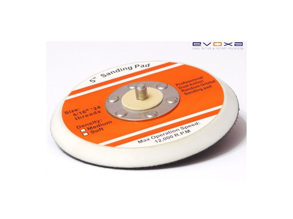 EVOXA Backing Plate 125mm