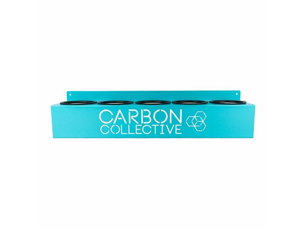 Kovový držák na lahve Carbon Collective Bottle Organiser - 500 ml Bottle Holder