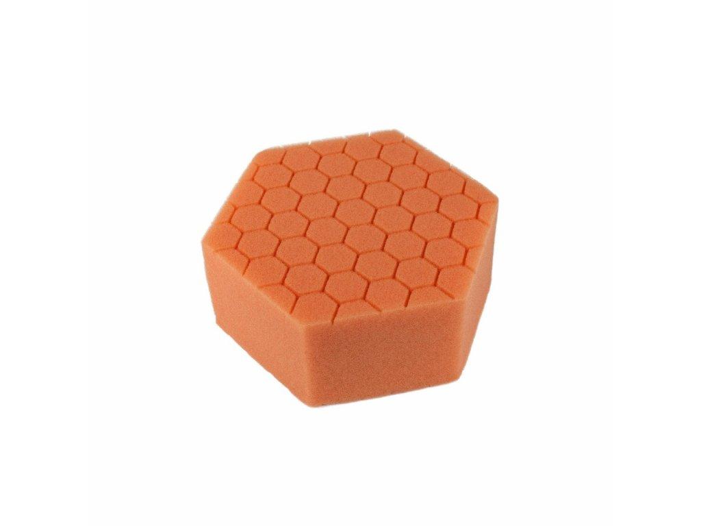 Carbon Collective HEX Hand Polishing Pad - Orange (aplikátor na ruční leštění jemný)