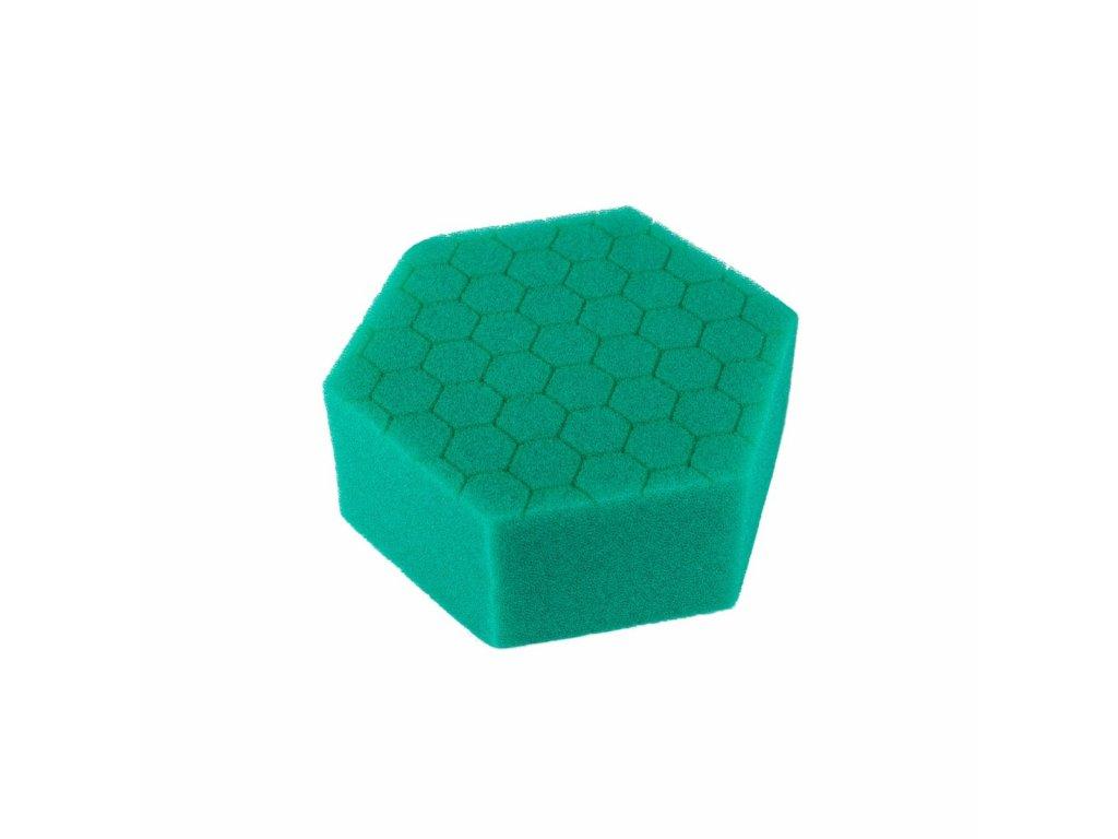 Carbon Collective HEX Hand Polishing Pad - Green (aplikátor na ruční leštění brusný)