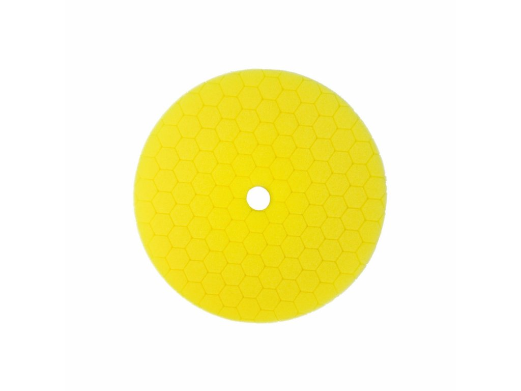Carbon Collective HEX Machine Polishing Pad Yellow (Leštící kotouč MEDIUM)