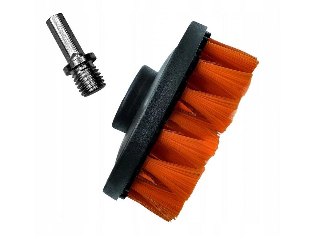 ADBL Twister Soft 100 mm (textilní kartáč)