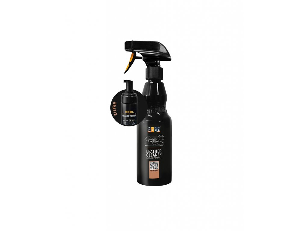 ADBL Čistič na kůži Leather Cleaner (1000 ml) + Foamer 150 ml for free