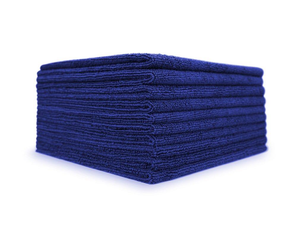 The Collection Allround & Coating (245gsm) 40x40 cm Royal Blue 10er pack sada mikrovláknových utěrek