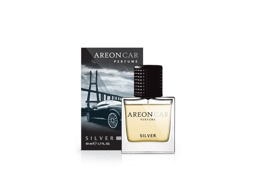 Car Perfume 50ml Silver