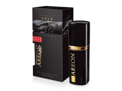 Car Perfume 50ml metal Gold