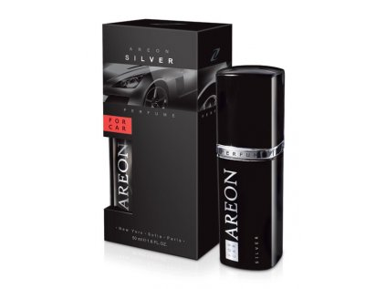 Car Perfume 50ml metal Silver