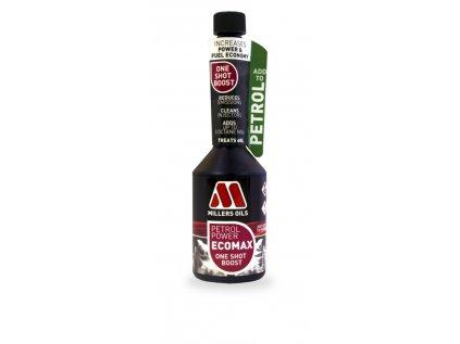 Millers Oils Petrol Power ECOMAX One Shot Boost jednorázová aditivace benzínu 250 ml