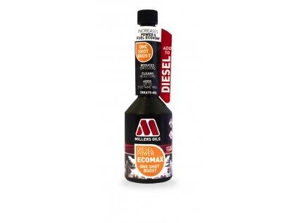 Millers Oils Diesel Power ECOMAX One Shot Boost jednorázová aditivace nafty 250 ml