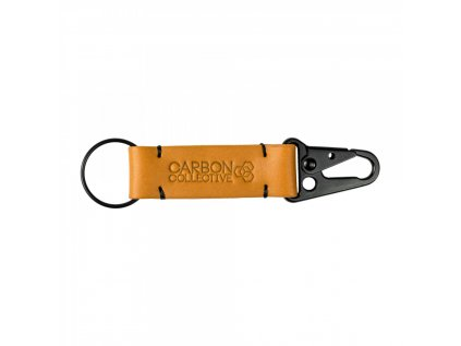 Carbon Collective Snap Hook Leather Chain - Tan