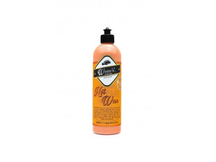 wowos hot wax 500ml front