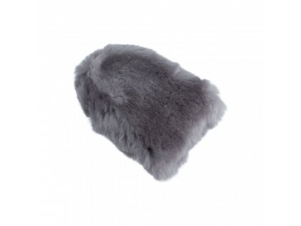Carbon Collective Merino Wool Mini Mitt - Lavender Grey