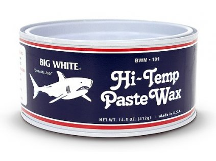 BWM 101 Hi Temp Paste Wax Big White Marine Can Closed 1