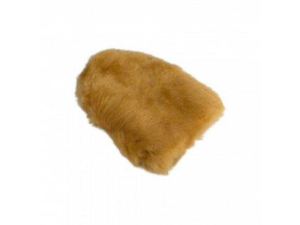Carbon Collective Merino Wool Mini Mitt - Light Brown