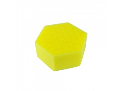 Carbon Collective HEX Hand Polishing Pad - Yellow (aplikátor na ruční leštění střední)