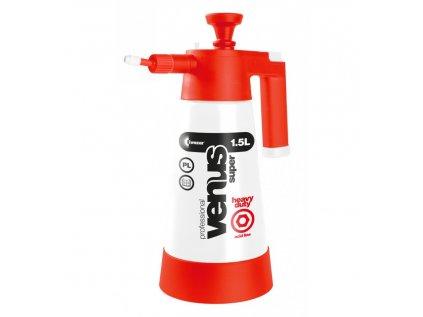 Kwazar Venus Super Pro+ Heavy Duty V-1.5 ACID ruční tlakový postřikovač s odolností proti kyselinám 1500 ml
