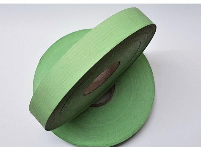 Plastová stuha - svetle zelená - matná