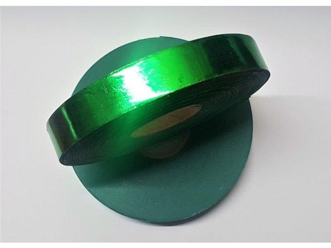plastova stuha 2 leskla zelena