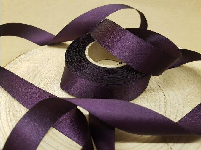 Saténová stuha - fialová