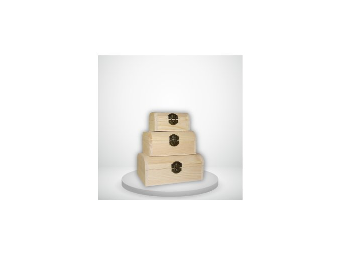 Krabice dřevěná truhlicka truhla darkova