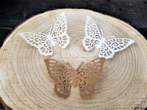 Dekorace na dárek - sada motýlů 1