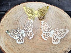 Dekorace na dárek - sada motýlů 4
