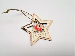 dekorace-drevo-vanocni-jelen-hvezda