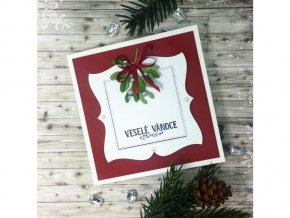 Vánoční přání, jmelí