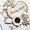 Svatební přání - Srdce dřevo