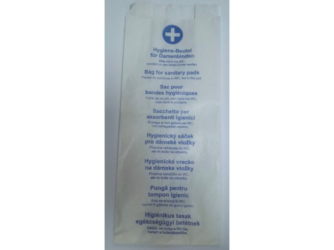 Hygienické sáčky, papírové