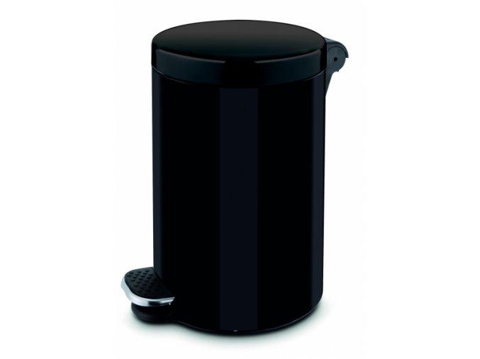 Pedálový koš 3l - černý