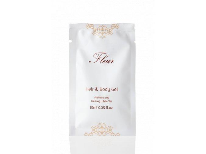Vlasový a tělový šampon 10 ml - Fleur