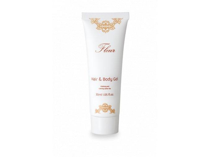 Fleur vlasový a tělový šampon