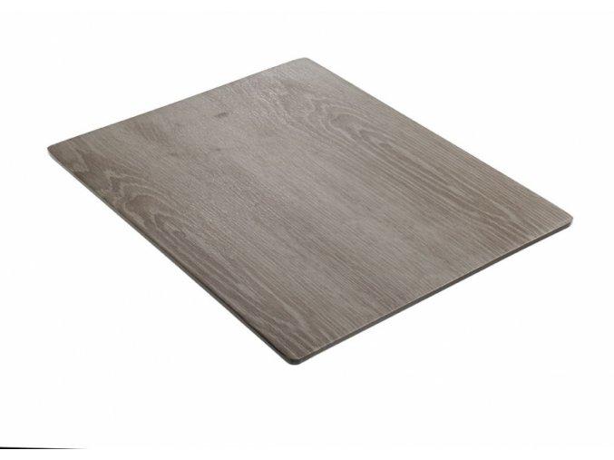 Servírovací prkénko - šedá imitace dřeva