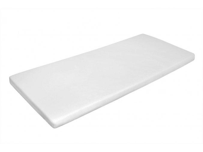 Prostěradlo 180x200 cm, 160tc, bílé, napínací