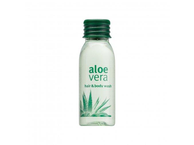 Vlasový a tělový gel 30 ml Aloe Vera