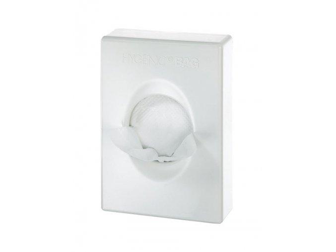 Zásobník na hygienické sáčky, bílý plast