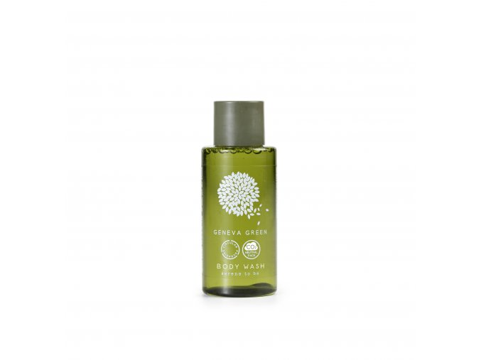 Sprchový gel 30 ml Geneva Green - recyklovaný plast