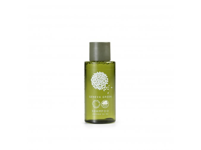 Šampon 30 ml Geneva Green - recyklovaný plast