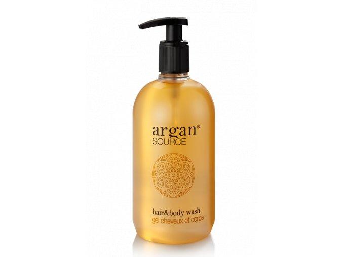 Vlasový a tělový šampon 500 ml - Argan Source
