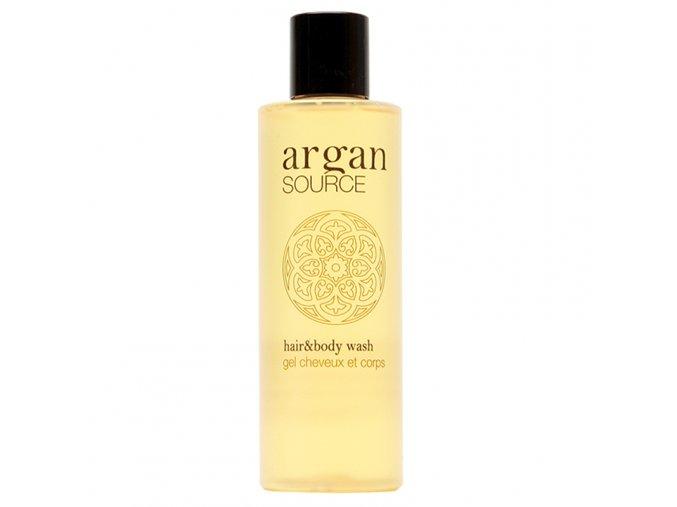 Vlasový a tělový šampon 200 ml Argan Source
