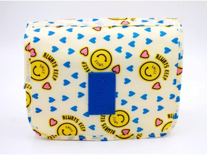 Kosmetická taška, dětská žlutá