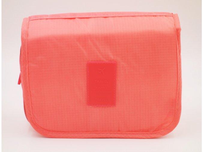 kosmeticka taska lososova