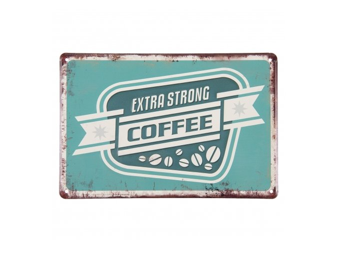 plechová cedule Coffee