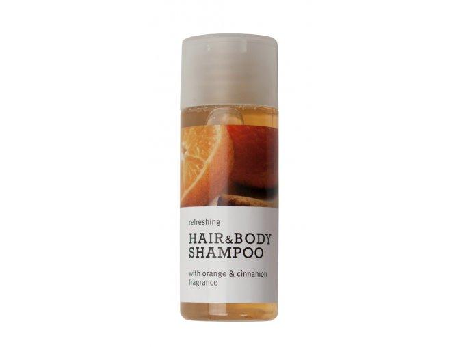 Vlasový a tělový gel 30 ml - Pomeranč&Skořice