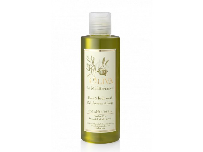 Vlasový a sprchový gel 200 ml - Oliva