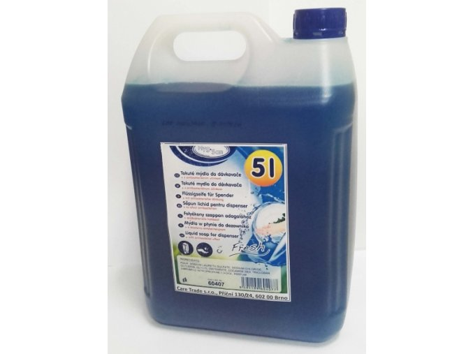 Kanystr tekuté antibakteriální mýdlo - 5l