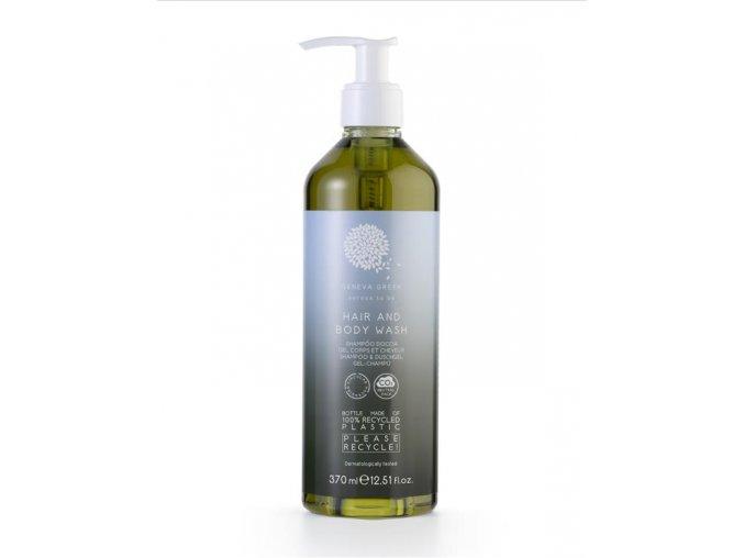 vlasovy a telovy gel geneva green recyklovany plast